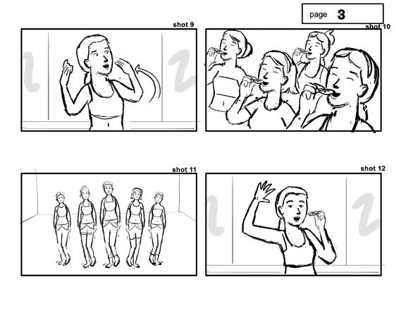 Commercial Storyboards | Ryan Sias.Com